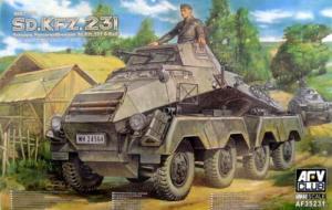 8 kołowy pojazd opancerzony Sdkfz.231 AFV 35231