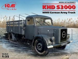 Niemiecka ciężarówka KHD S3000 ICM 35451