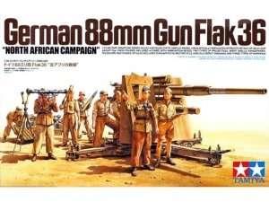 Tamiya 35283 German 88mm GUN Flak36 North African Campaign