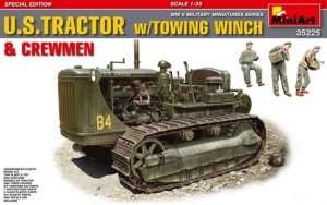 MiniArt 35225 U.S. Tractor w/Towing Winch Crewmen