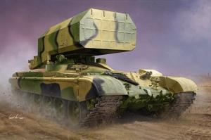 Trumpeter 09560 Wyrzutnia rakiet TOS-1 na podwoziu T-72