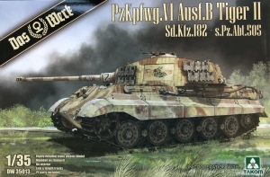 Das Werk DW35013 Czołg PzKpfwg.VI Tiger II