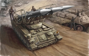 Trumpeter 00361 Russian SAM-6 antiaircraft missile