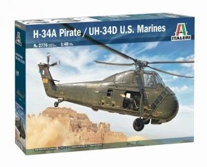 Italeri 2776 Śmigłowiec H-34A Pirate /UH-34D US Marines