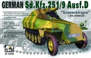 AFV 35068 Transporter Sd.Kfz.251/9 ausf.D w skali 1-35