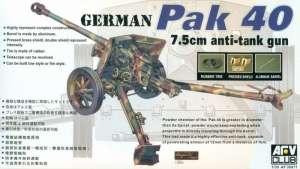 AFV 35071 Pak 40 75mm armata przeciwpancerna