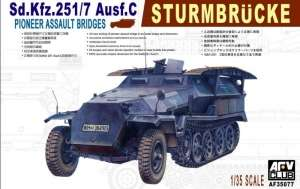 AFV 35077 Wóz saperski Sd.Kfz.251/7 ausf.C Sturmbrucke