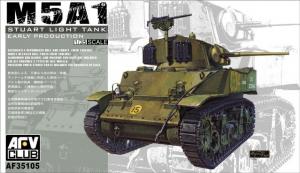 AFV 35105 Czołg M5A1 Stuart model 1-35