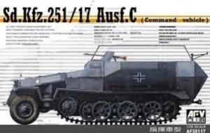 AFV 35117 Tranporter Sd.Kfz.251/17 Ausf.C Command vehicle