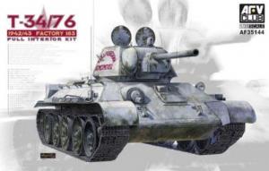 AFV 35144 Czołg T-34/76 1942/43 z wnętrzem