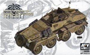 AFV 35233 Pojazd opancerzony Sd.Kfz.233 8-Rad model 1-35