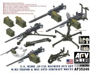 AFV 35246 US M2HB .50cal Machine Gun set