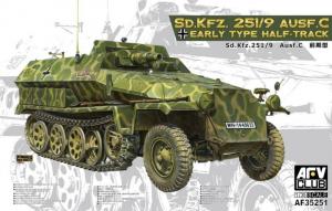 AFV 35251 Transporter Sd.Kfz. 251/9 Ausf.C Half-Track
