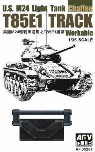 AFV 35287 Gąsienice ogniwkowe T85E1 do czołgu M24 Chaffee