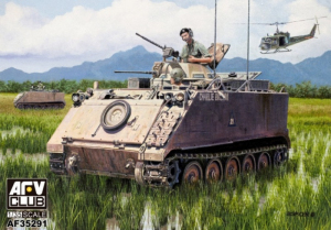 AFV 35291 Transporter opancerzony M113A1 APC model 1-35