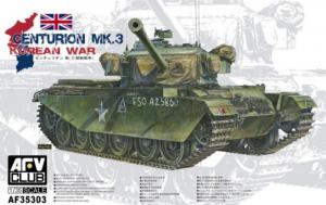 AFV 35303 Czołg Centurion Mk.3 model 1-35 Korea
