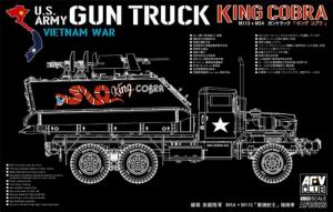 AFV 35323 US Gun Truck King Cobra model 1-35