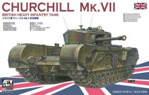 AFV 35324 Czołg Churchill Mk.VII model 1-35