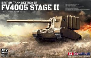 AFV 35405 Niszczyciel czołgów FV4005 Stage II model 1-35