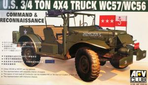 AFV 35S16 Jeep 4x4 WC57/WC56 model 1-35