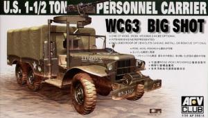 AFV 35S18 Ciężarówka 1-1.2 ton WC63 Big Shot model 1-35