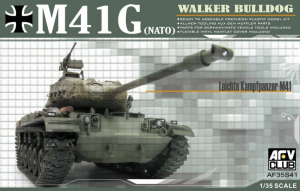 AFV 35S41 Czołg M41G Walker Buldog model 1-35