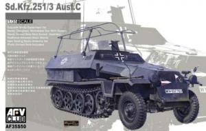 AFV 35S50 Tranporter Sd.Kfz.251/3 Ausf.C Mittlere Funkpanzergwagen