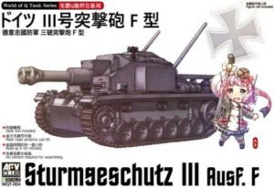 AFV WQT-004 Działo Sturmgeschutz III Ausf.F łatwy montaż