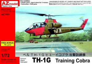 AZmodel 7451 Śmigłowiec Bell TH-1G Training Cobra