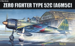 Academy 12493 Samolot A6M5c Zero Fighter Typ 52c