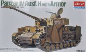 Academy 13233 Panzer IV Ausf.H with Armor