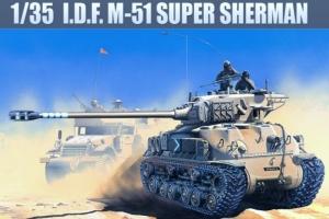 Academy 13254 czołg IDF M-51 Super Sherman 1-35