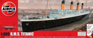 Airfix A050146A RMS Titanic zestaw z farbami 1-400