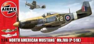 Airfix A14003A North American Mustang P-51K