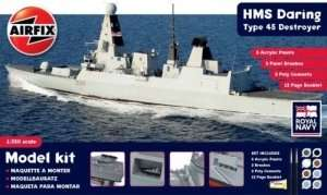 Airfix A50132 Zestaw - HMS Daring Type 45 Destroyer
