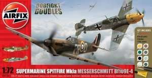 Airfix A50135 Dogfight Doubles - Spitfire Mk.Ia and Messerschmitt Bf109E-4