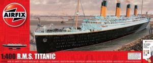 Airfix A50146A RMS Titanic zestaw z farbami 1-400