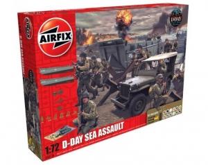 Airfix A50156A D-Day Sea Assault zestaw z farbami 1-72