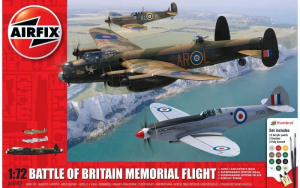 Airfix A50182 Battle of Britain Memorial Flight zestaw z farbami