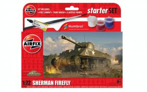 Airfix A55003 Zestaw z farbami Sherman Firefly 1-72