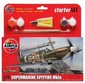 Airfix A55100 Zestaw z farbami Supermarine Spitfire Mk.Ia