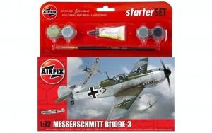 Airfix A55106 Zestaw z farbami Messerschmitt Bf109E-3
