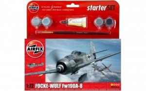 Airfix A55110 Zestaw z farbami Focke-Wulf Fw190A-8