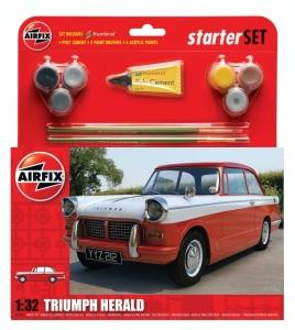 Airfix A55201 Samochód Triumph Herald z farbami i klejem