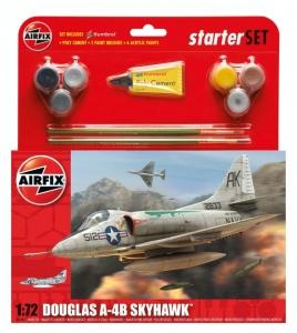 Airfix A55203 Zestaw z farbami Douglas A-4B Skyhawk