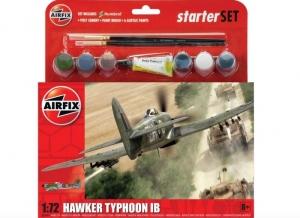 Airfix A55208 Zestaw startowy Hawker Typhoon IB z farbami