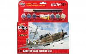 Airfix A55213 Zestaw startowy Boulton Paul Defiant Mk.I z farbami