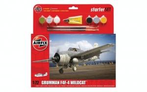 Airfix A55214 Zestaw z farbami Grumman F4F-4 Wildcat