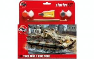 Airfix A55303 Zestaw z farbami PZ VI Ausf.B King Tiger