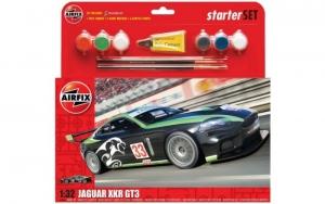 Airfix A55306 Samochód Jaguar XKR GT3 z farbami i klejem
